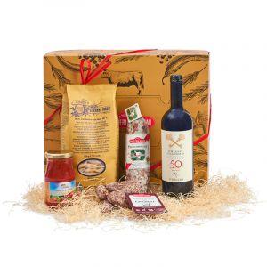 Confezione regalo Salumi & vino I