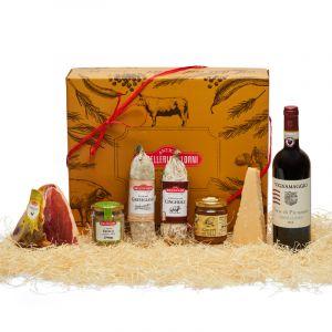 Confezione regalo Salumi, Formaggi & Vino VI