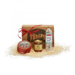 Confezione regalo Salumi, Formaggi & Vino II