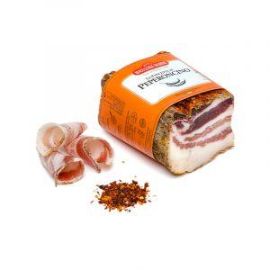 La Pancetta al Peperoncino, 450 gr ca