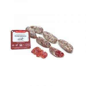 Le Salsicce Stagionate con Cinghiale, fila da 6, 250 gr ca