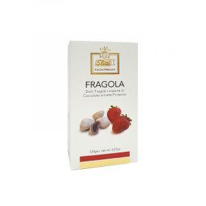 Fragole ricoperte di Cioccolato Bianco e al Latte Finissimo