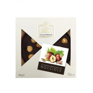 Tortina al cioccolato fondente con nocciole