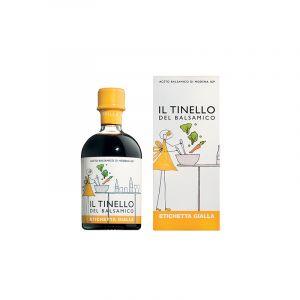 L'aceto balsamico di Modena IGP del Tinello-etichetta gialla