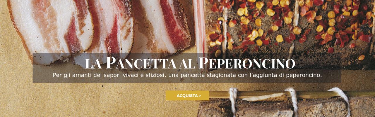Pancetta al Peperoncino
